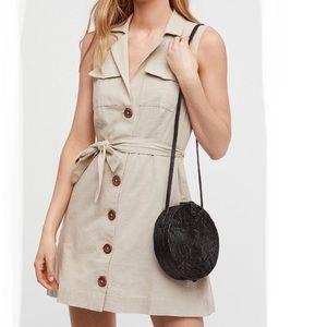Free people Natural Hepburn mini dress